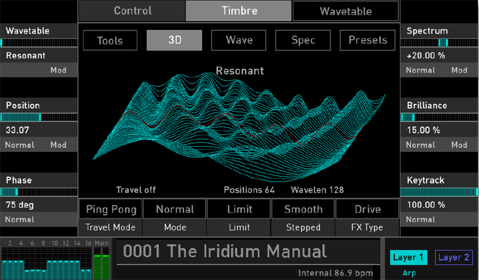 iridium_wavetable